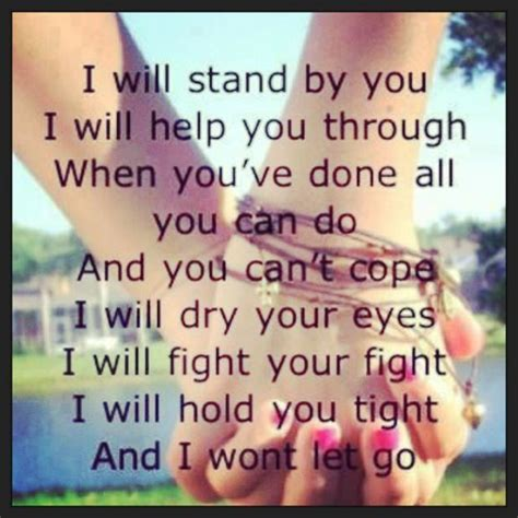 country music lyrics i will stand by you i will stand by you true love pinterest rascal flatts