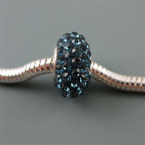 european 925 sterling silver charm cz midnight blue