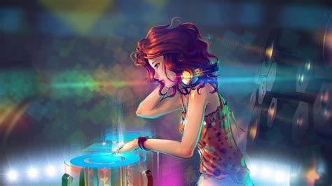 anime girls wallpapers hd pictures one hd wallpaper anime dj girl with headphones hd images 3 hd wallpapers