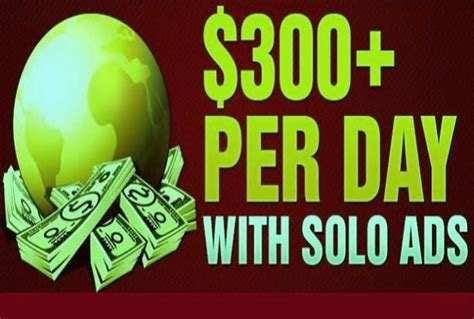 Make Money Online Solo Ads - show proven method creating 300dollars with solo ads for 5 seoclerks
