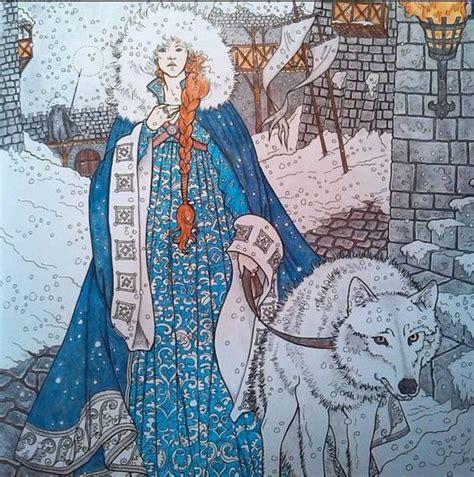 thrones colouring book sansa oficial coloring book of thrones gt gt i an