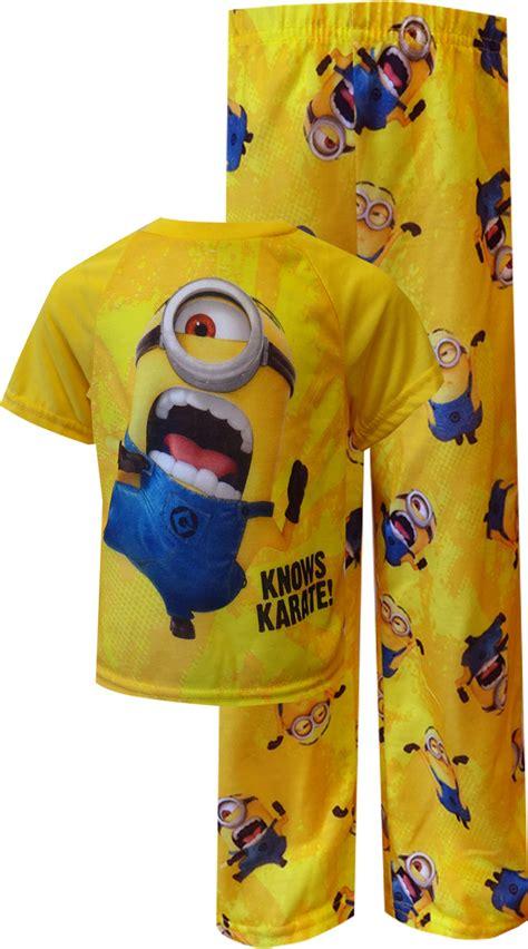 Minions Piyama webundies despicable me 2 minion knows karate toddler