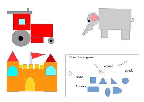 formas geometricas con imagenes escuela italiana primaria dibujos con formas geom 233 tricas
