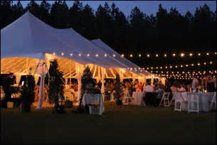 outdoor tent lighting ideas farm wedding of the tent lights