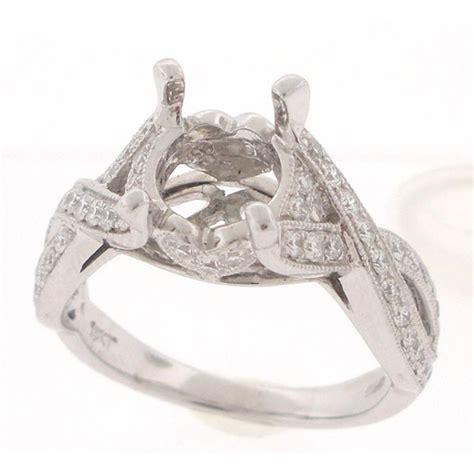 exquisite engagement ring remount 1197
