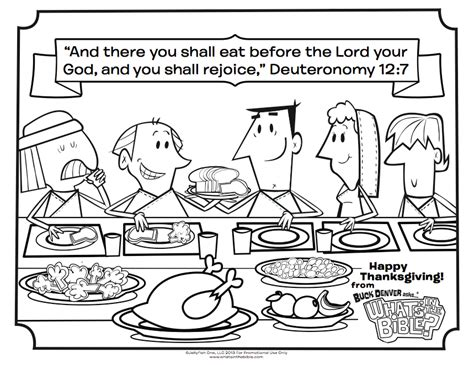 thanksgiving coloring page whats   bible