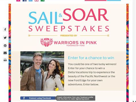 Warriors In Pink Sweepstakes - the ford warriors in pink sail soar sweepstakes sweepstakes fanatics