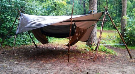 Diy Tripod Hammock Stand how to make a free standing hammock stand bushcraft days