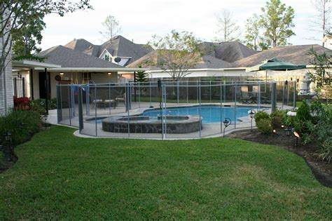 save pool fence ideas providing safety  protecting