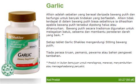 Haba Garlic Bawang Habbatusauda badan sihat hati ceria garlic shaklee menurunkan darah tinggi