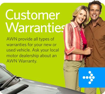 awn warranty extended used vehicle warranty and roadsite assistance