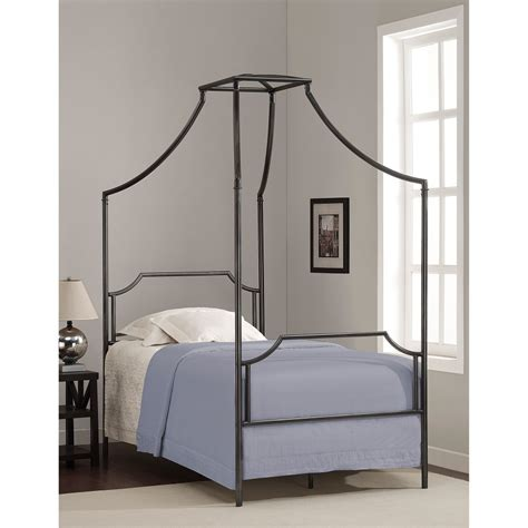 twin size canopy bed frame twin canopy bed frame metal classic creeps stylish