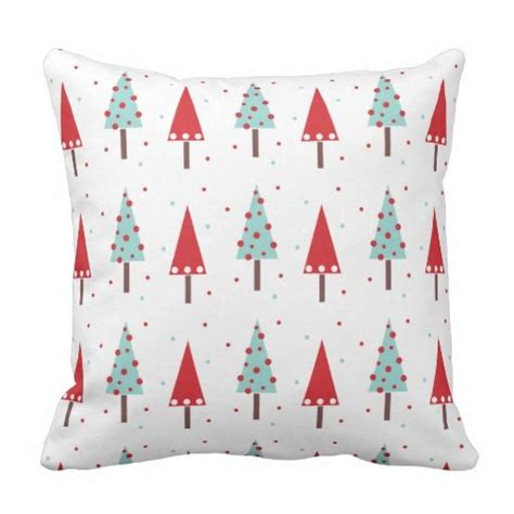 whimsical christmas tree pattern whimsical christmas tree pattern pillow