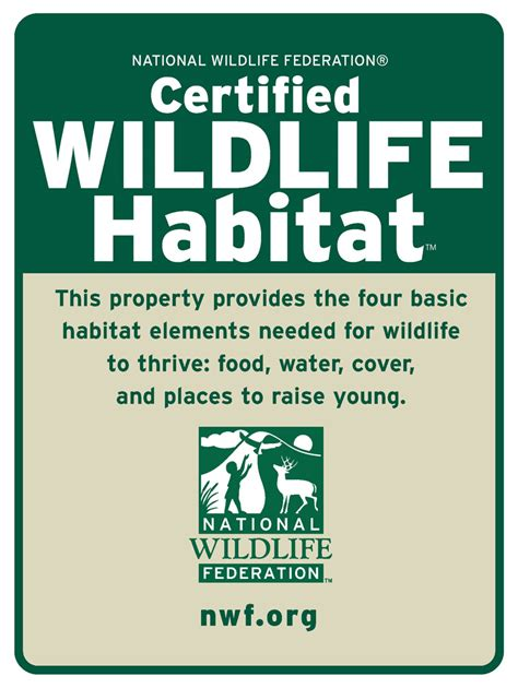 certified backyard habitat creating an eco system in your own backyard 171 extension