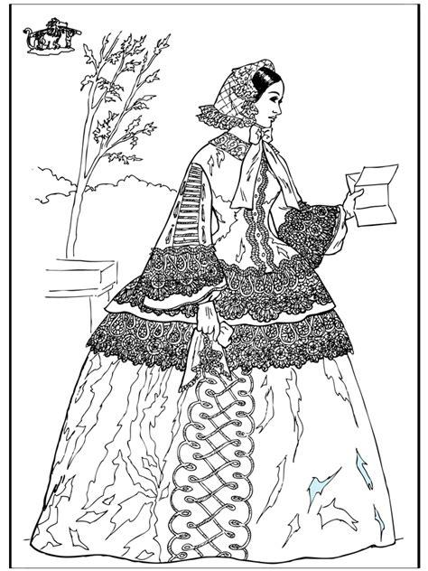 Mujer con una carta - La Edad Media