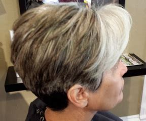 the bromans haircut highlights for white hair on white hair with pink