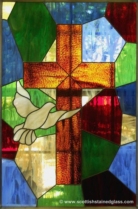 stained glass cross l stained glass cross religious stained glass pinterest