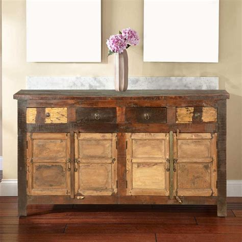 Rustic Buffet Cabinet by Rustic Reclaimed Wood New Sideboard Buffet Storage