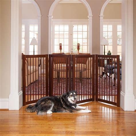 wide dog gates for the house extra wide pet gate dog walk thru freestanding fence playpen indoor wood safety fences