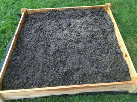 raised garden bed soil raised bed gardening part 2 putting together the soil