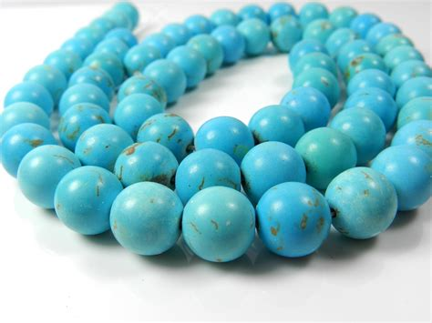 the bead chunky turquoise large 12mm turquoise