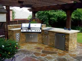 Inexpensive Outdoor Kitchen Ideas kitchens patios kitchens outdoor spaces stacked stone outdoor kitchen