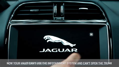 valet mode jaguar f pace how to use valet mode wow amazing