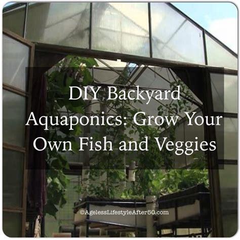 diy backyard aquaponics diy backyard aquaponics grow your own fish and veggies lynn pierce ageless lifestyle