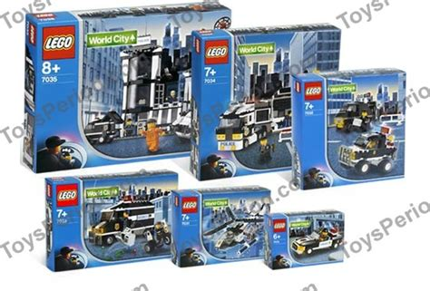Special Lego World City 7032 4wd And Undercover lego k7035 world city kit set parts inventory and