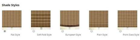 Graber Blinds What Are The Different Roman Shade Styles