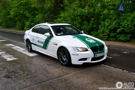 BMW M3 Dubai Police Car Spotted in Poland   autoevolution