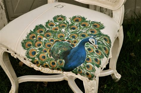 Hand Painted Peacock Chair The Basics For Painting Your