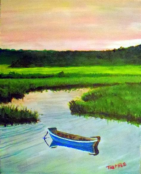 boats for sale on cape cod ma cape cod marsh boat print by william tremble