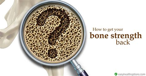 bone strength  easy health options