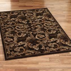 acanthus scroll area rugs