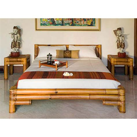 bamboo bed fitfurn vivid queen size bamboo bed premium assam
