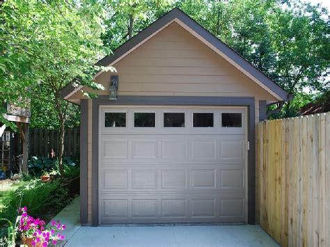 1 car garage 1 car garages classic builders