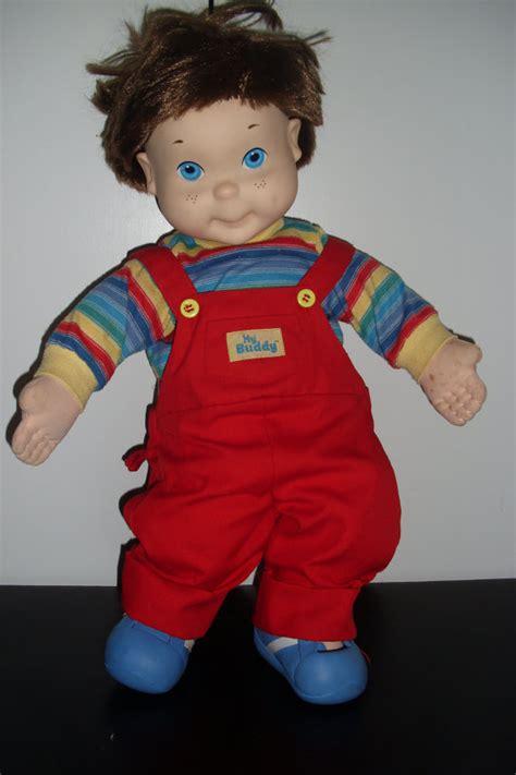 my name is buddy my boy my my books hasbro original my buddy doll 1985 brown hair blue boy