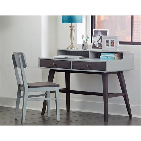 Child S Writing Desk by Ne East End Writing Desk With Chair In Gray 7101 779ndc