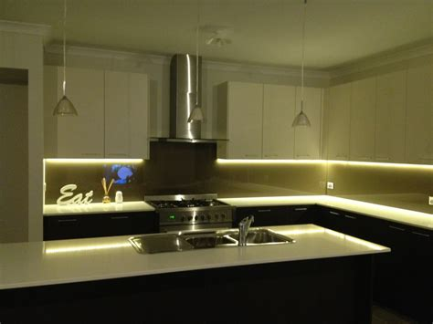 the counter led lighting for kitchen 2 meter 12v 3528 water resistant led light