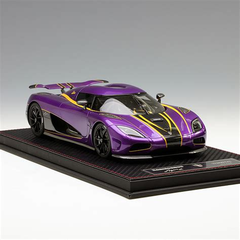 koenigsegg purple frontiart 1 18 koenigsegg agera r purple