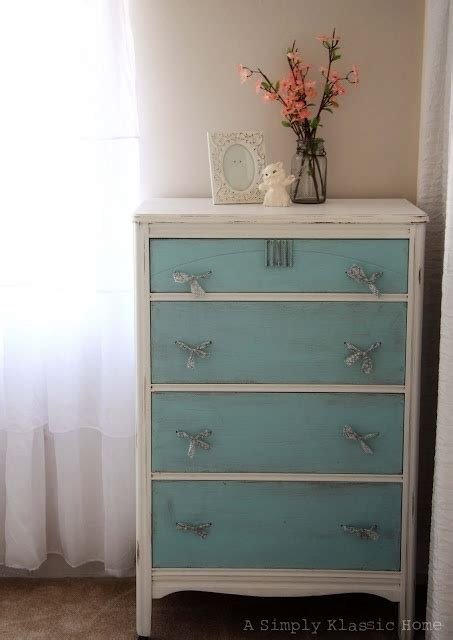 Two Tone Painted Dresser by An American Tale Of A Dresser