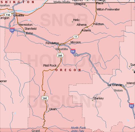 map of oregon pendleton hermiston or pictures posters news and on your
