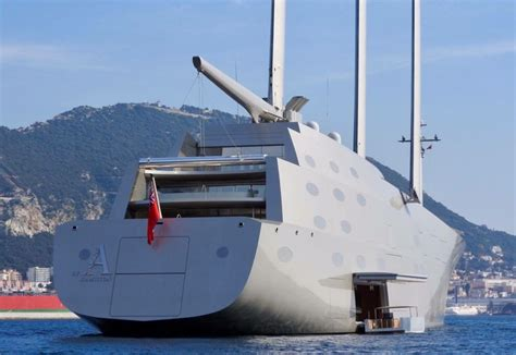 luxe zeilboot yacht sailing yacht a andrey melnichenko quot a quot white pearl