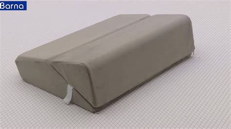 customized height adjustable acid reflux memory foam bolster wedge pillow for baby buy