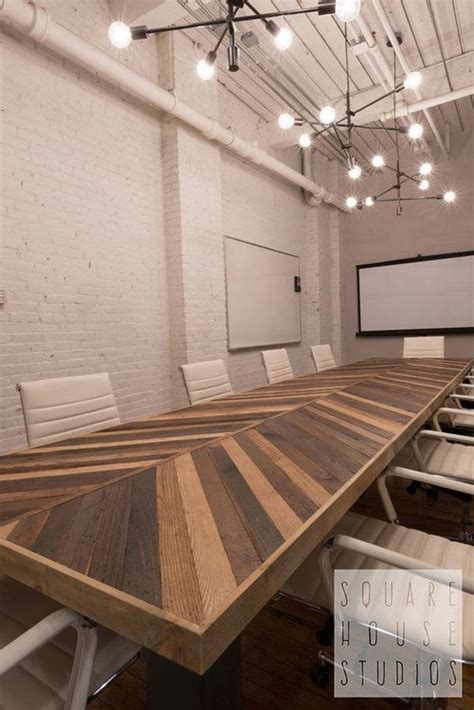 modern industrial conference table 17 best ideas about custom tables on pinterest welded