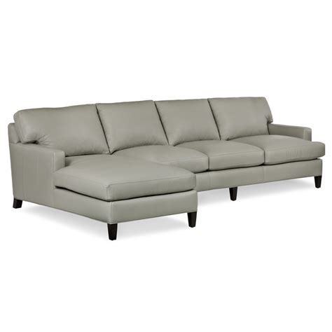 hancock and moore sectional hancock and moore nc303cllaf raf york sectional discount