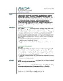resume sles for teachers computer resume in schools sales lewesmr