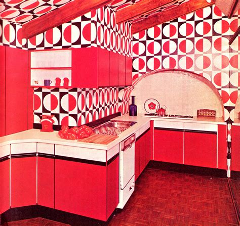Zany Kitchen by These Zany Interior Design Pictures Prove That No Decade