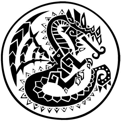 monster tattoo png image monster hunter logo png monster hunter wiki